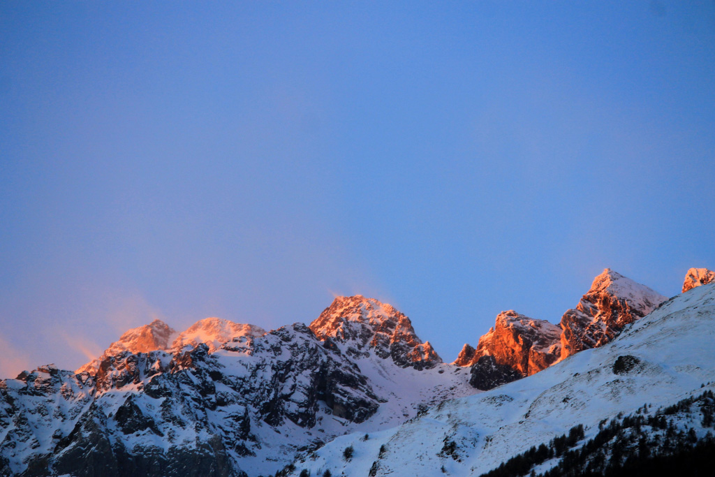 Inverno - Tramonto